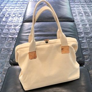 Lord & Taylor wide mouth bag